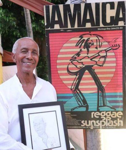 Reggae Sunsplash...Ronnie Burke Photo
