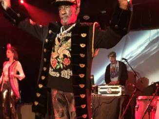 "Lee ""Scratch"" Perry performing at the Dub Club in Los Angeles."