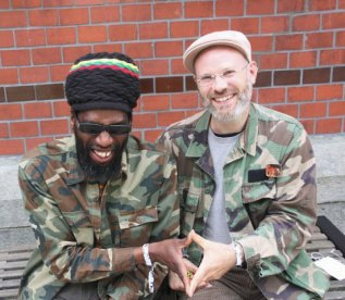 Dominic Reuben, a reggae selector from the UK