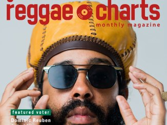 Global Reggae Charts - Issue 8 // December 2017 Front Cover