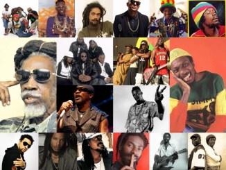 Reggae Grammy winners through the years