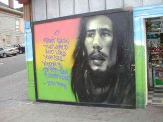 Bob Marley Mural