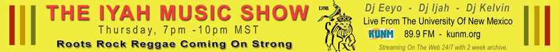 Iyah Music Show Promo Banner
