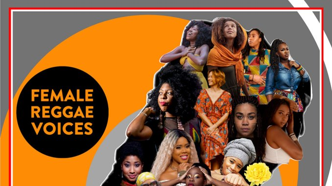 Female Reggae Voices Album Cover