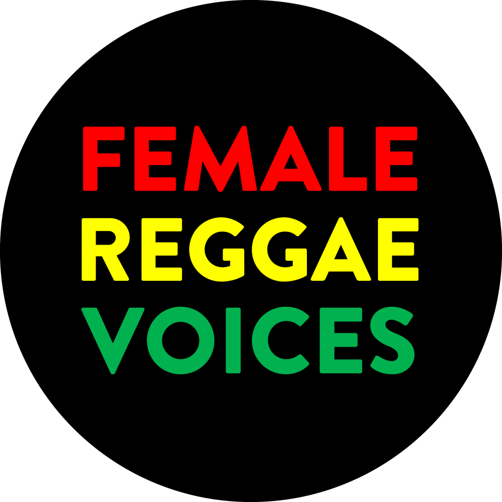 Female Reggae Voices Round Logo