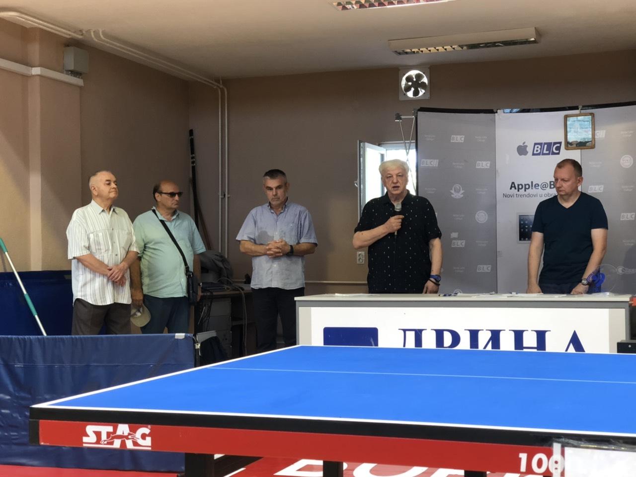 Poceo stonoteniski turnir