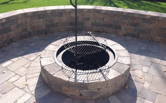 installing outdoor fire pits