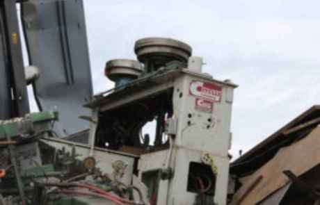 Machine recycling services