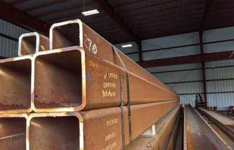 Structural Steel recycling center