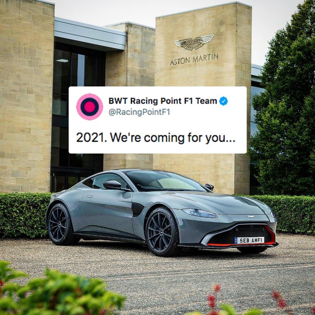 Sebastian Vettel Joins Aston Martin On A Multi Year Deal For 2021 Season