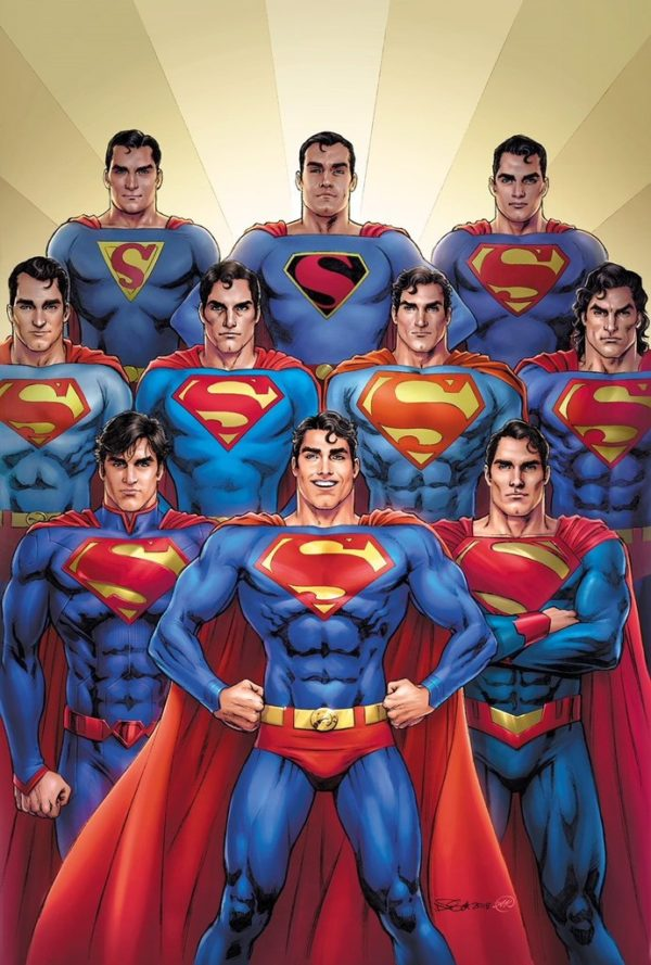 Nicola Scott Variant Cover for Action Comics #1000 with Kings Comics
