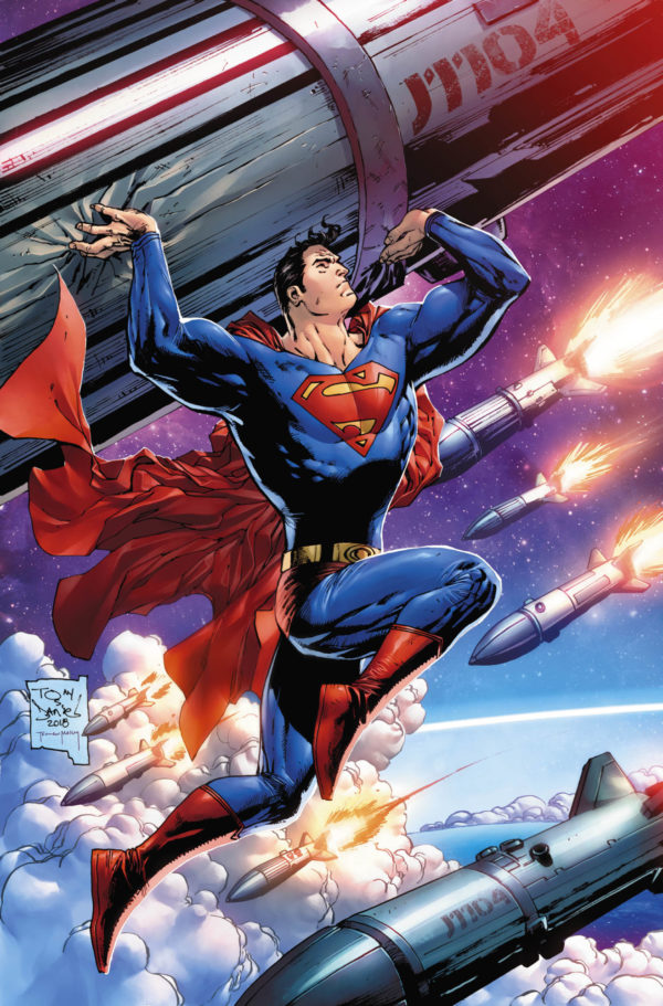 Tony S Daniels Variant Cover for Action Comics #1000 with Uncanny Comic Shop