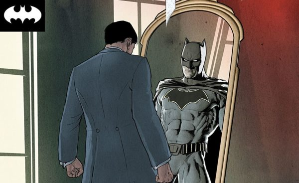 Batman #44 cover by Mikel Janin