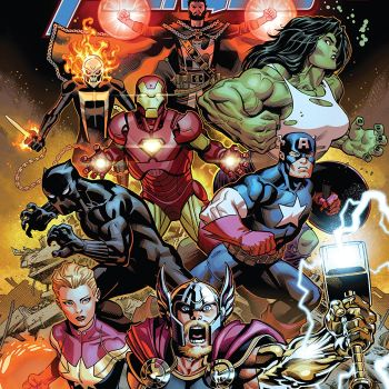Avengers #1 cover by Ed McGuinness