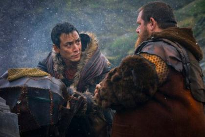 Image result for into the badlands carry tiger to mountain