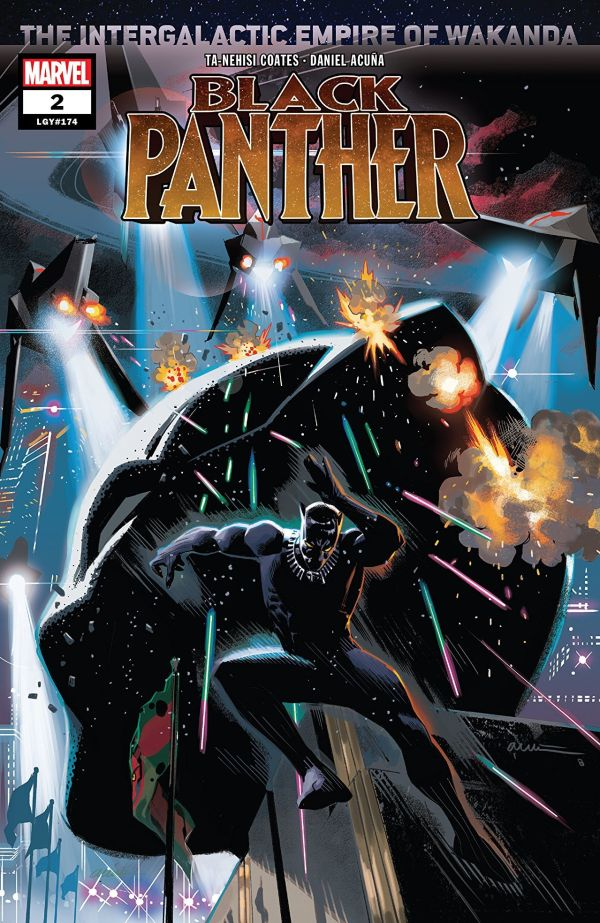 Black Panther #2 cover by Daniel Acuna