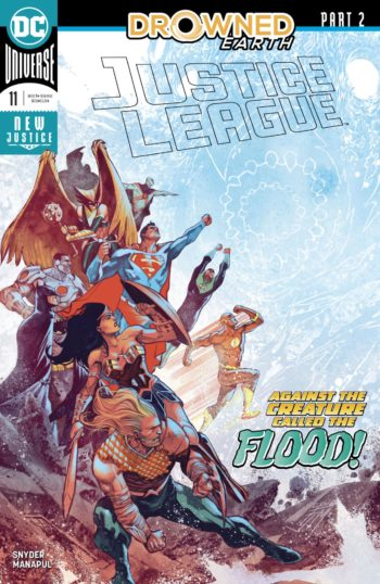 Justice League 11 review