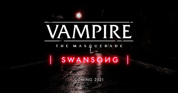 """Vampire: The Masquerade - Swansong"" Announced At PDXCON"
