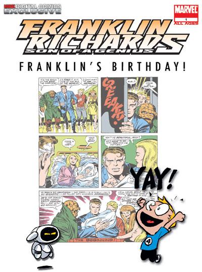 franklin richards birthday