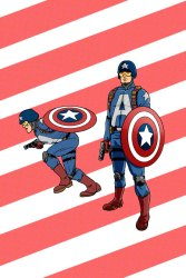 Project:Rooftop Captain America redesign