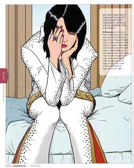 vegas/rated katy perry illustration