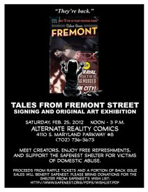 Tales from Fremont Street benefit