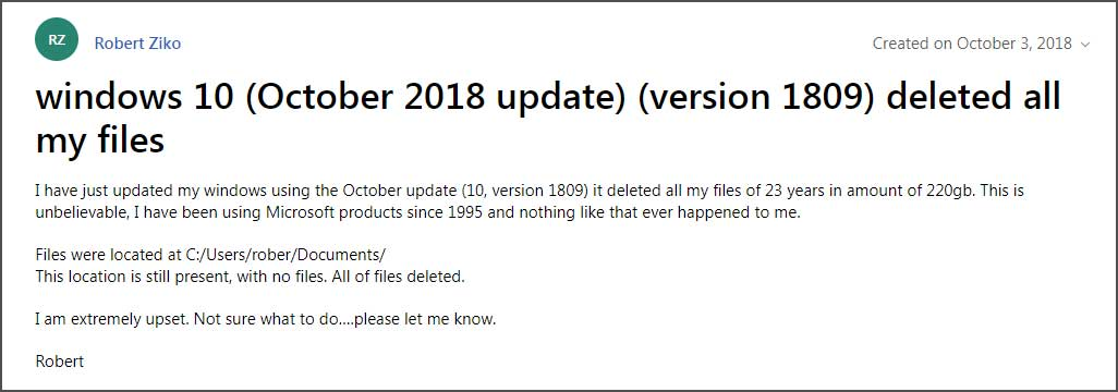 deleting-files Microsoft Has Pulled the Windows 10 October 2018 Update