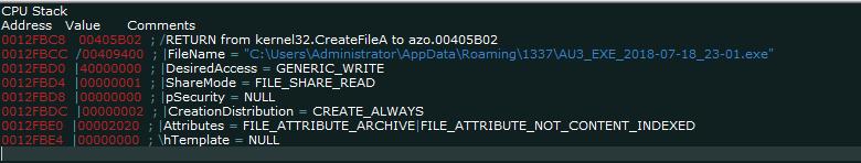 "createfile ""AZORult Trojan"" Serving ""Aurora Ransomware"" by MalActor Oktropys"