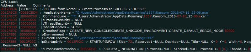 "createprocess2 ""AZORult Trojan"" Serving ""Aurora Ransomware"" by MalActor Oktropys"