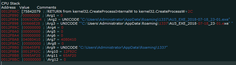"execution ""AZORult Trojan"" Serving ""Aurora Ransomware"" by MalActor Oktropys"