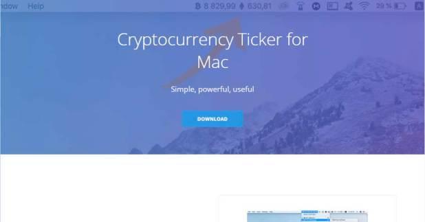 Sitio web de CoinTicker
