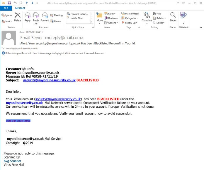 Weird Phishing Campaign Uses Links With Almost 1,000 Characters
