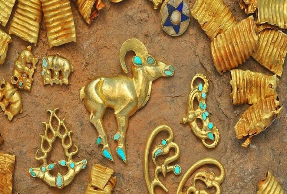 Saka: 3 000 kusů starověkého zlata objeveného v Kazachstánu