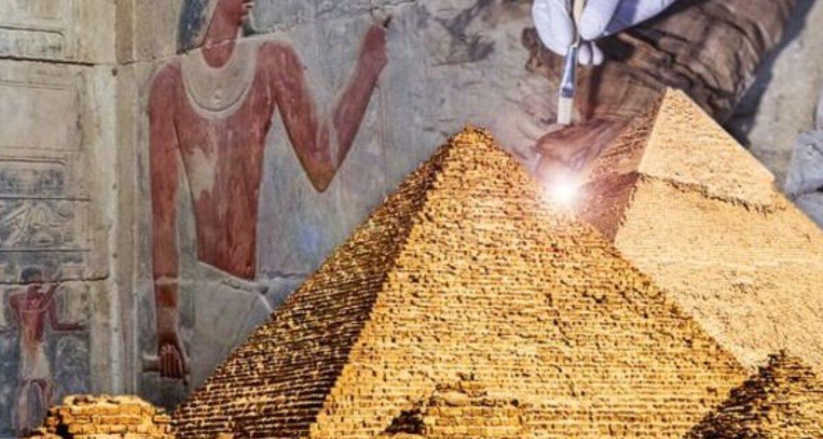 """""""Panebože, něco tam je!"""" Zajímavý objev ve Velké pyramidě v Gíze"""