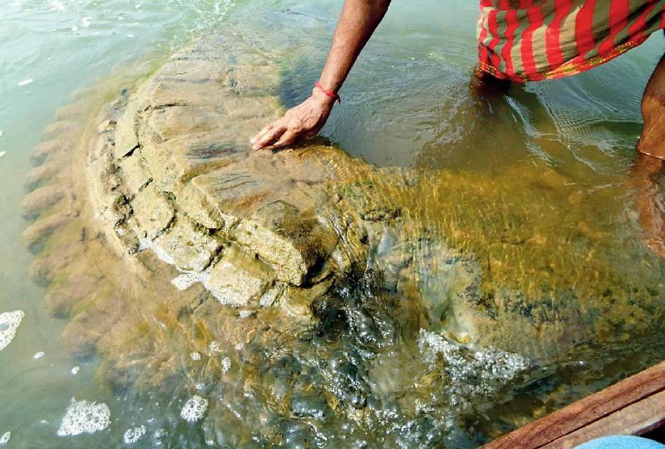 Hledali ho téměř 200 let, chrám se ale objevil sám následkem sucha