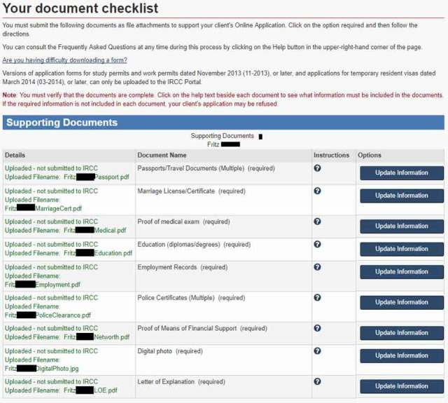 Online Application For Canada Permanent Resident Card