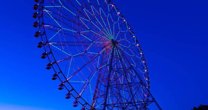 This theme park in Japan is allowing visitors to work remotely from atop a Ferris wheel!