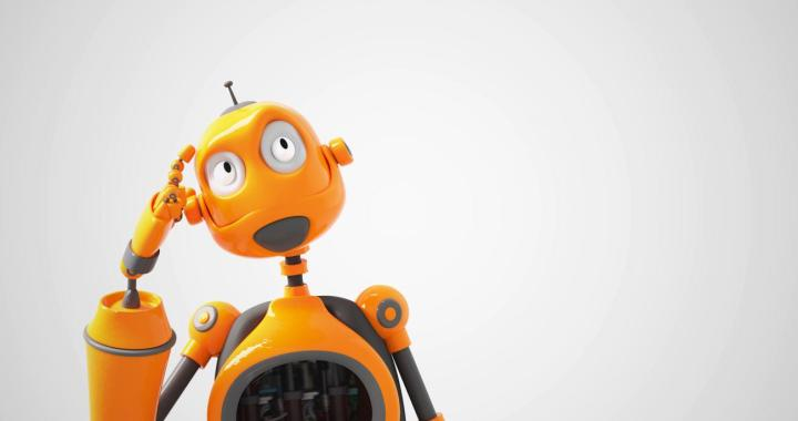 Why do robots have smiley faces?
