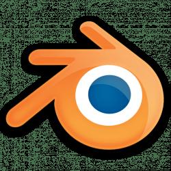 Shiny Blender logo