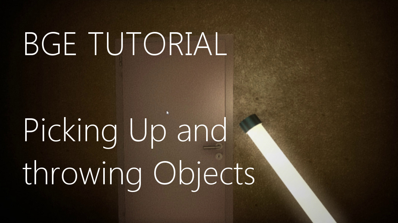 Blender Game Engine Picking up objects : blender lighting tutorial - azcodes.com