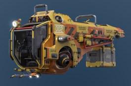 spaceship_textured_front_01