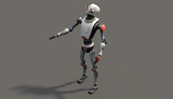 Koschei 3D Robot - Rigged Model - BlenderNation