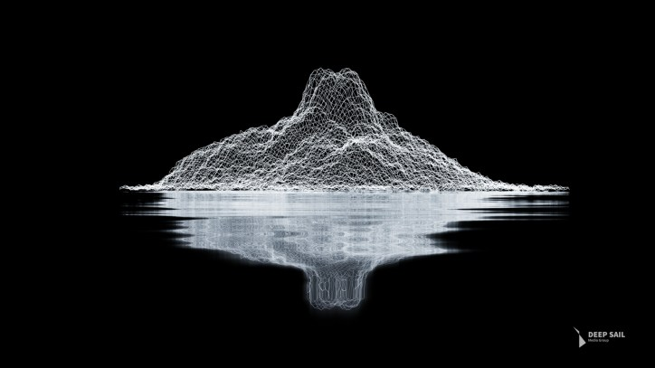 nick-brunner-abstract-mountains-wireframe-logo
