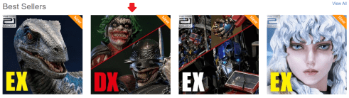 Batman Who Laughs is currently one of Prime 1's best selling statues.