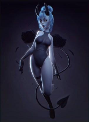 perfect devil girl