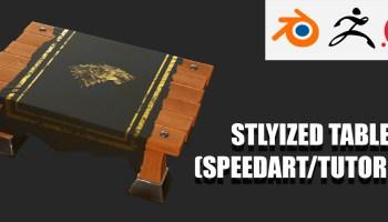 Stylized Door - Game Asset (SpeedArt/Tutorial) - BlenderNation