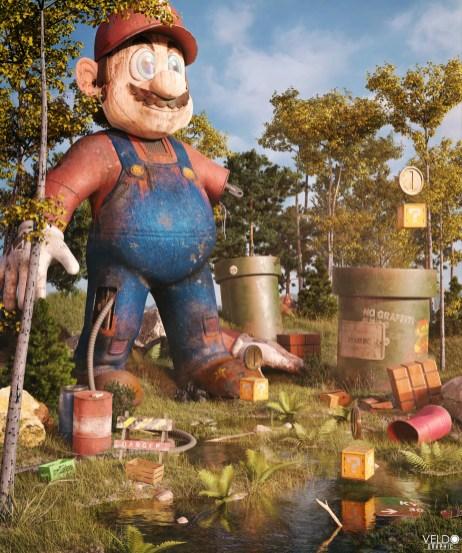 Super Mario poster 2