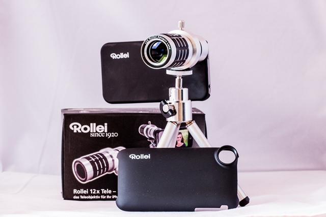 Rollei 12x Teleobjektiv für das iPhone