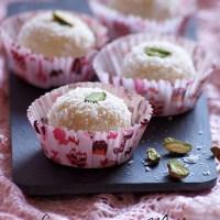 Easy Coconut Condensed Milk Laddu Recipe {Video}