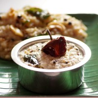 Desiccated Coconut Chutney Recipe - South Indian Coconut Chutney without Fresh Coconut